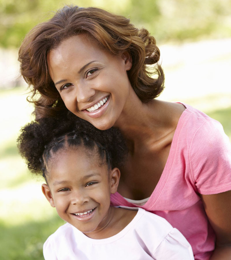 33604837 - mother and daughter portrait